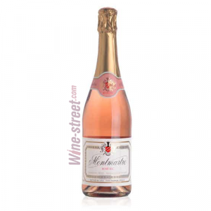 Montmartre Sparkling Wine ROSE Brut Charmat Cuvee