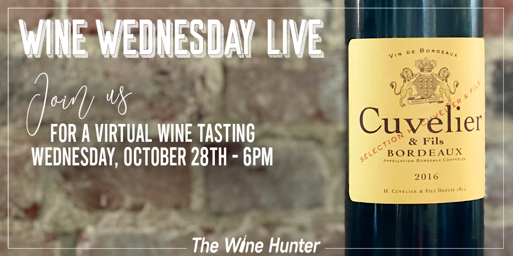 Wine Wednesday Featuring Henry Cuvelier Le