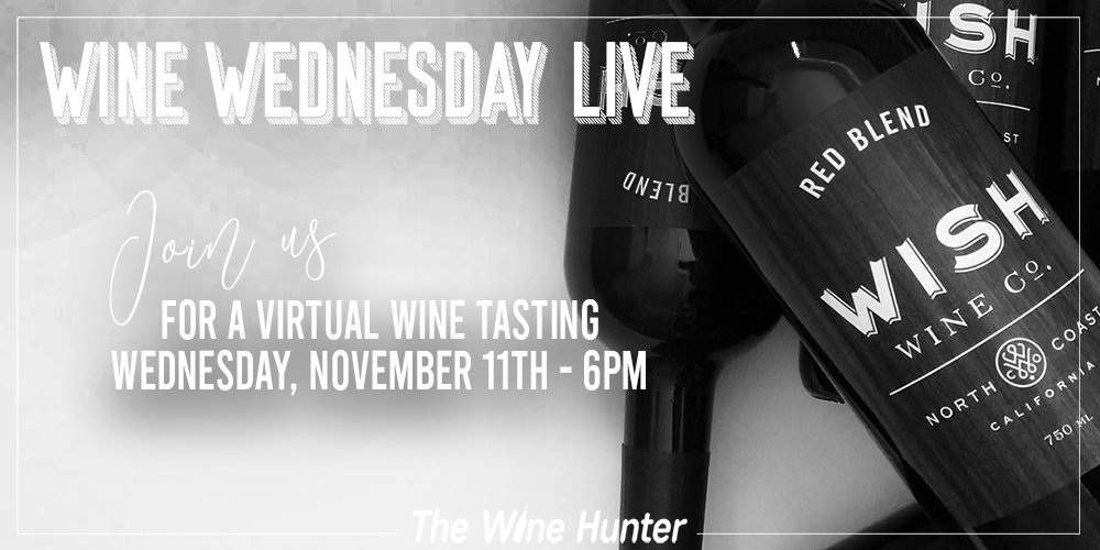 Wine Wednesday Featuring Wish Domestic Italian Red Blend!