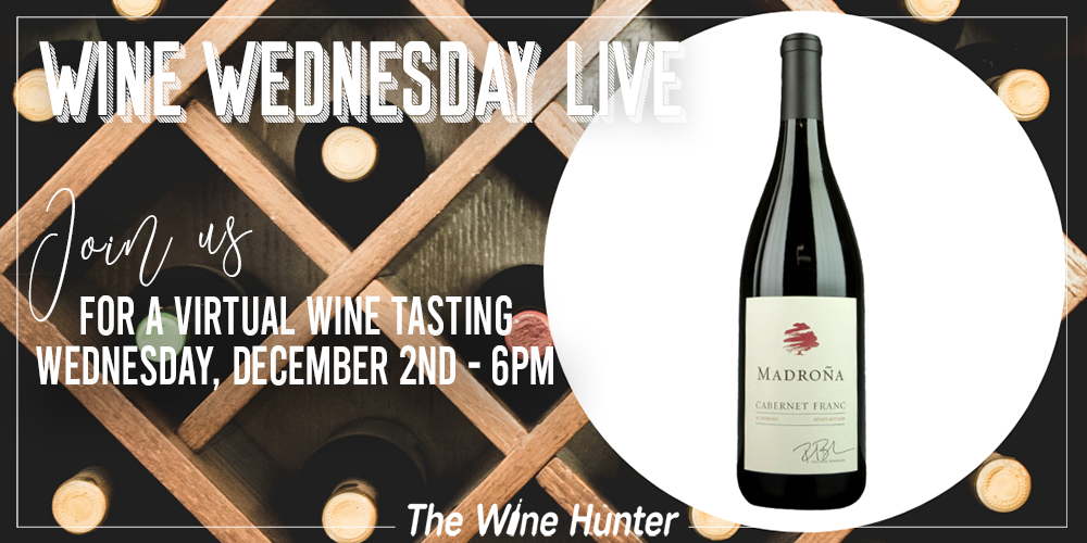 Wine Wednesday with TheWineHunter Celebrating Cabernet Franc International Day