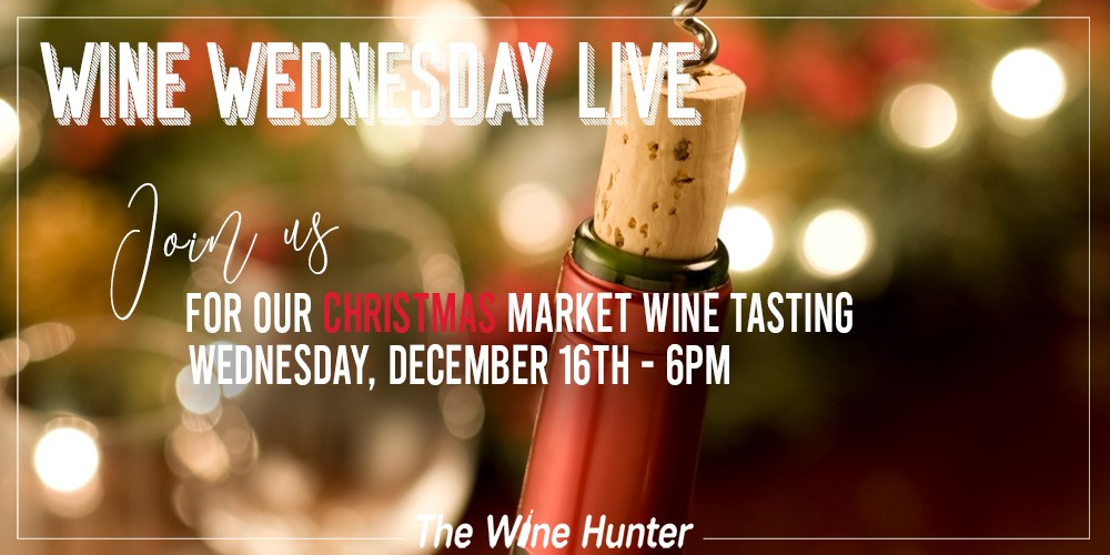 Wine Wednesday Live with TheWineHunter \