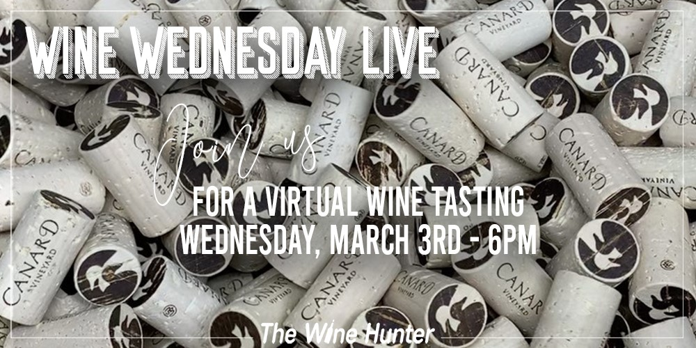 Wine Wednesday Featuring Canard Vineyard